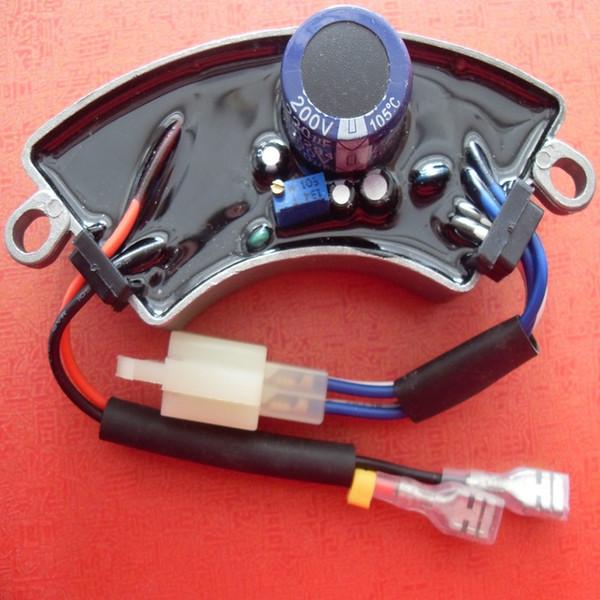 GTDK2.5-1 2KW 2.5KW AVR Caja de aluminio para KIPOR KAMA ELEMAX HONDA Partes de accesorios Accesorios