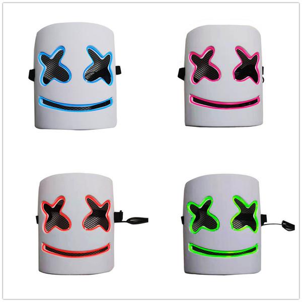 Compre Máscara De Marshmallow Que Brilla Intensamente