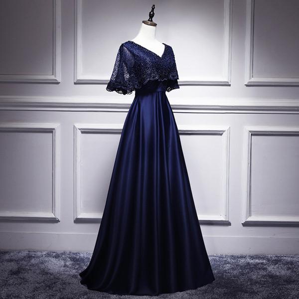 Sexy Slim V-neck Natural drape ruffle trim Dress Improved Cheongsam Chinese style Evening Dress Vestidos Size S-3XL