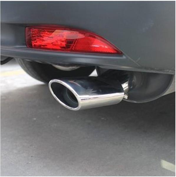 For Honda CR-V CRV 2012-2016 Stainless Exhaust Muffler Tip End Pipes Silencer