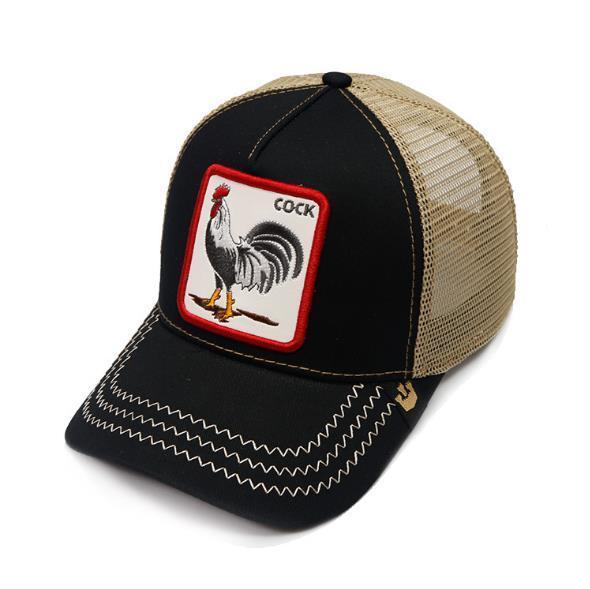 Yetişkin Erkek Womens için SNAPBACKS ile Yaz Trucker Şapka ve Hayvan Nakış / Ayarlanabilir Kavisli Beyzbol / tasarımcıya Güneş Visor Caps