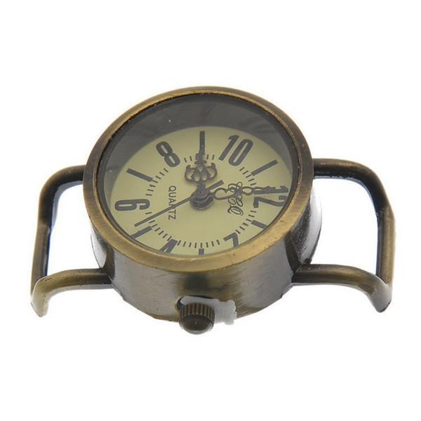 ИУ производители продают древние бронзовые цифровые часы мода механический циферблат партии