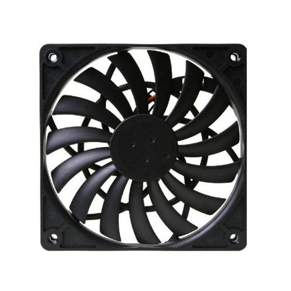 Scythe SY1212SL12H-P PWM вентилятора Cooler Ультра тонкие температуры Controlled с водяным охлаждением Вентиляторы 12см PWM вентилятор с управлением