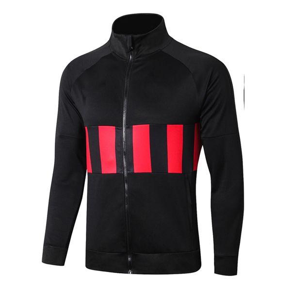 A264 # 1920 de alto cuello de la chaqueta negro la parte superior