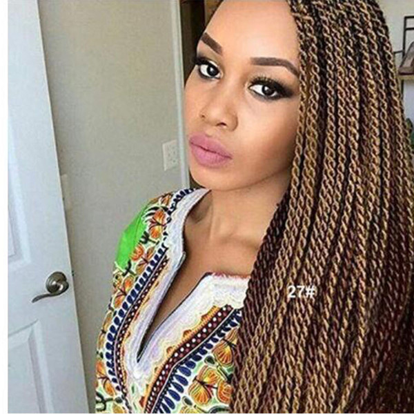 2019 Senegalese Twist Crochet Hair Braids Havana Mambo Twist Crochet Braiding Hair Senegalese Twists Hairstyles For Black Women From Zyhbeautyhair