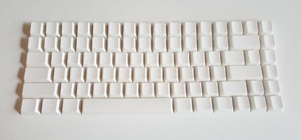 Noppoo эскимо мини 84 белый Blank печати PBT KEYCAP слива 84 механическая клавиатура вишня тх NIZ ключи mini84