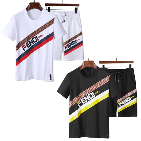 New Luxury Designer Running Tracksuits Men Short Sleeve Brand Sweatshirt Fashion Letter DD GG Bees Print medusa Jogger Sportswear track suit