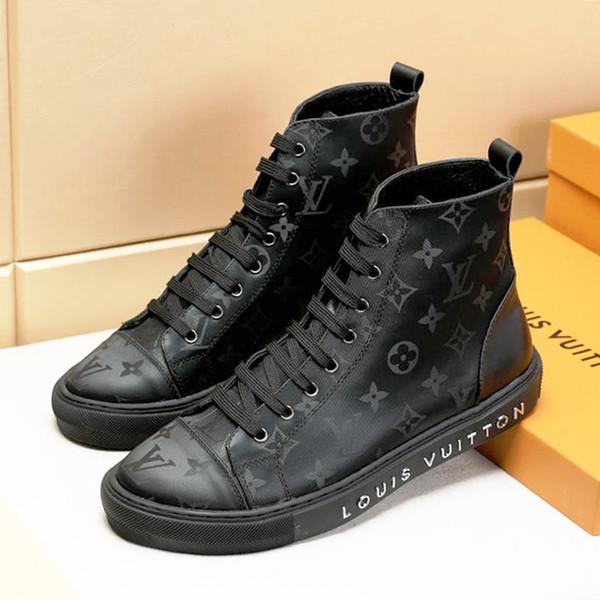 Новый 2019 Мужская Обувь Сапоги Кроссовки Повседневная Дышащая Удобная Мода Теннис Спортивные Кроссовки Zapatos de hombre TATTOO SNEAKER BOOT Hot Sale