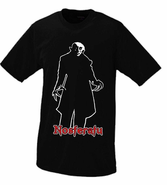 Nosferatu T-shirt T Shirt Summer Style Fashion Men T Shirts Top Tee New Man Design Mens Short Sleeve Tees Print Plus Size