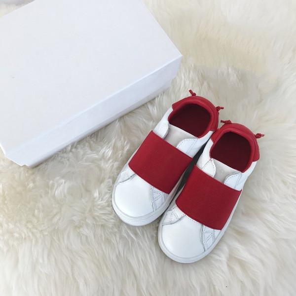 Yüksek kaliteli Fransa Paris GiVEN bebek yürüyor bebek rahat ayakkabılar çocuklar çocuk erkek kız okul öncesi sneakers EUR22-37 140-238mm çocuklar ayakkabı