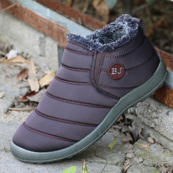 Free shipping 2018 winter warm cotton shoes soft bottom waterproof old Beijing cotton shoes Maokou two cotton handmade snow boots o1