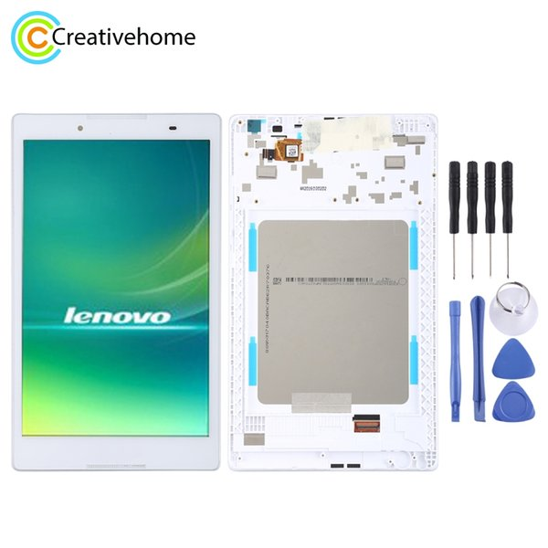 High Quality LCD Screen and Digitizer Full Assembly Lcd Replacement Glass With Frame For Lenovo Tab 2 A8-50 A8-50F A8-50LC