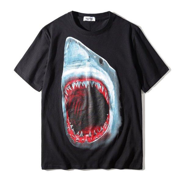 Lüks Erkek Tasarımcı T Shirt Moda Hayvan Baskı Tasarımcısı T Gömlek Yüksek Kalite Erkekler Kadınlar Hip Hop Kısa Kollu B ...