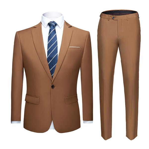 khaki suit
