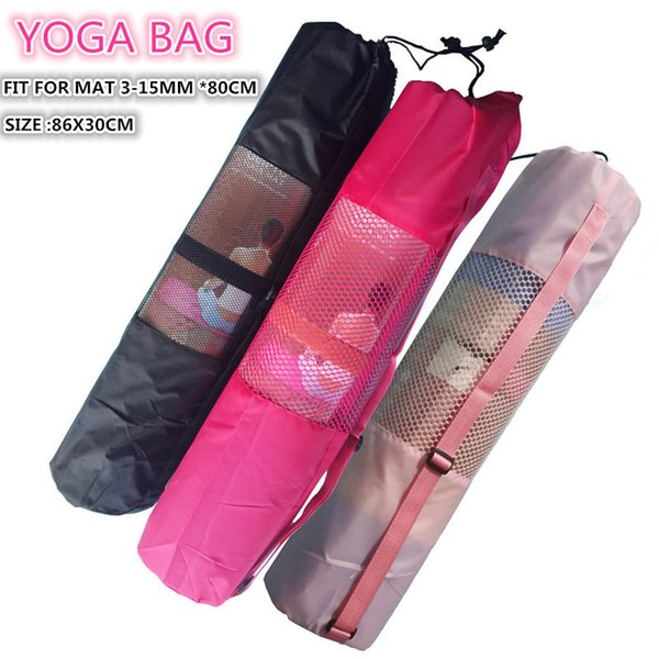 Extra Large Yoga Mat Carry Bag for Men and Women With Adjustable Strap Drawstring Opeing Mesh Centre Easy Store Keep Clean