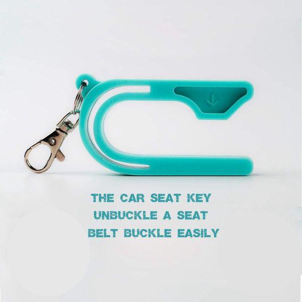 La llave del asiento para el automóvil - Desabroche fácil del asiento para el automóvil - Ayuda a niños y adultos a desabrocharse, 2019 Nueva herramienta fácil de abrochar