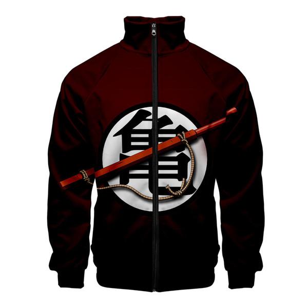 Anime Bomber Jacket Uomo / Donna Cappotti e giacche Harajuku 3d Giacca a vento giapponese Streetwear Oversize Zipper Jacket