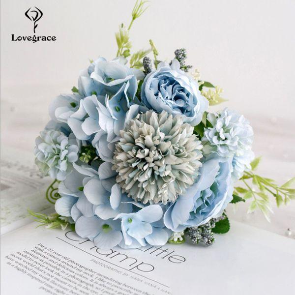 peonía azul