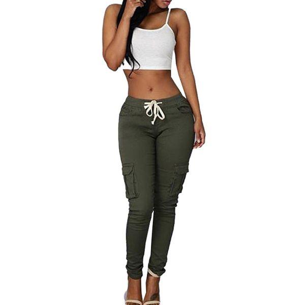 Moda Elástica Sexy Skinny Lápiz Jeans para mujeres Leggings Vintage Jeans Mujer de cintura alta Jeans mujer '; S de sección delgada pantalones de mezclilla