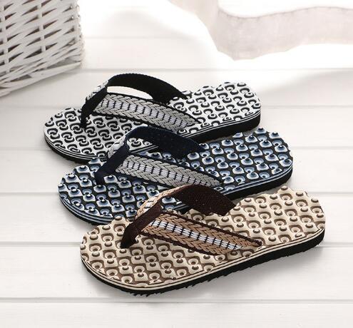 mujeres Zapatillas de masaje cómodas para hombres, sandalias con flip-flop, zapatillas de casa, zapatillas casuales para hombres Scuffs Flip Flops streetwear trendy S