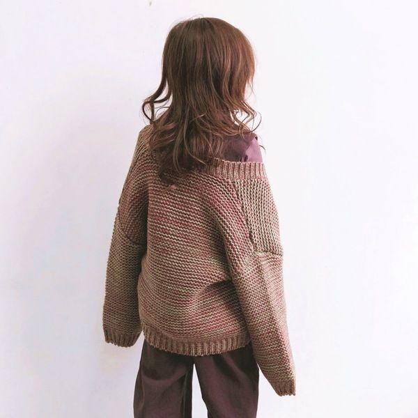 Children\u0027S Wear 2018 Winter New Girls \u0027Korean Blend Sweater Cardigan Big  Boy Fashion Double Pocket Loose Big Sweater Girls Black Cardigan Sweater  Cool