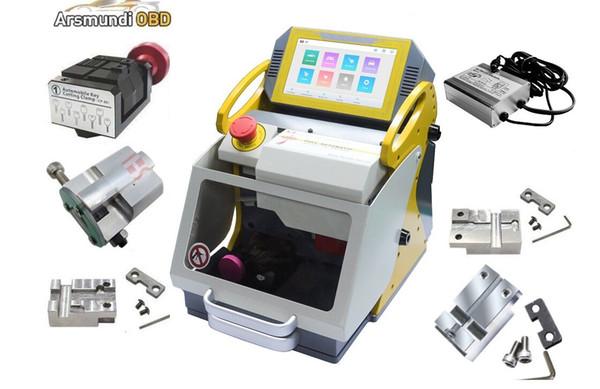 DHL free 2019 Multi-Language Automatic key Cutting Machine SEC E9 lock tools key copy machine better than A7+ machine for make car keys