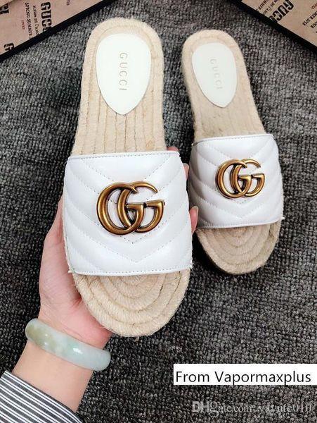iduzi Brand Summer luxury beach cork Slippers Casual Sandals Sequins Slides Double Buckle Clogs women Slip on Flip Flops Flats Shoe
