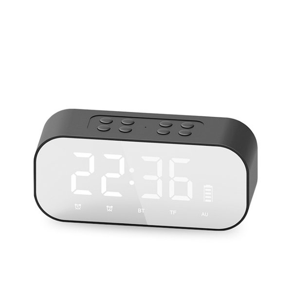 BT501 Portable Wireless Bluetooth Speaker header Alarm Clock Subwoofer Music Sound Box For PC Laptop USB Smartphone Support TF card