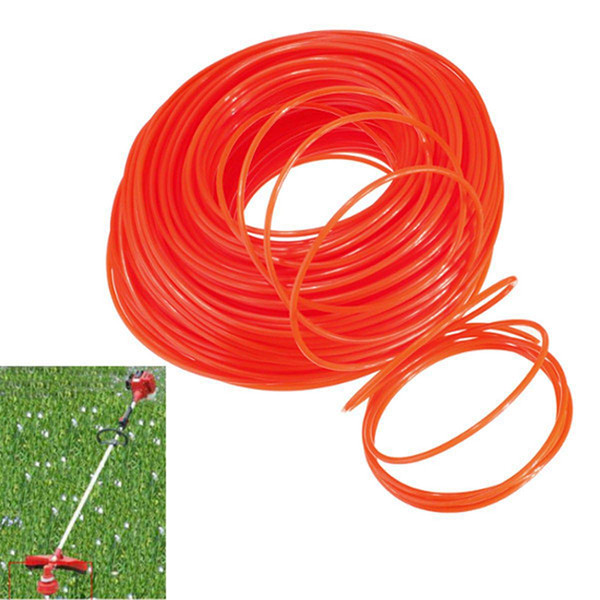 90m 2.4mm Mowing Nylon Trimmer Rope Brush Cutter Strimmer Line Mowing Wire Lawn Mower Accessory Grass Trimmer Head