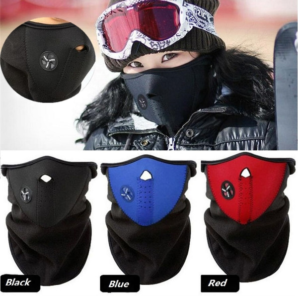 New Bicycle mask Winter Ski snow neck warmer face mask helmet for Skate/ Bike /Motorcycle Cycling Caps Face party Masks 10pcs/lot C0186