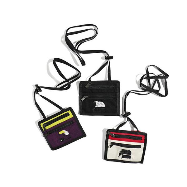 Мода Supre сумки Кошельки Марка Портативный Crossbody сумка Sup + Север Плечи Малый Кошельки Кошелек Satchel Спорт Chest пакет B81503