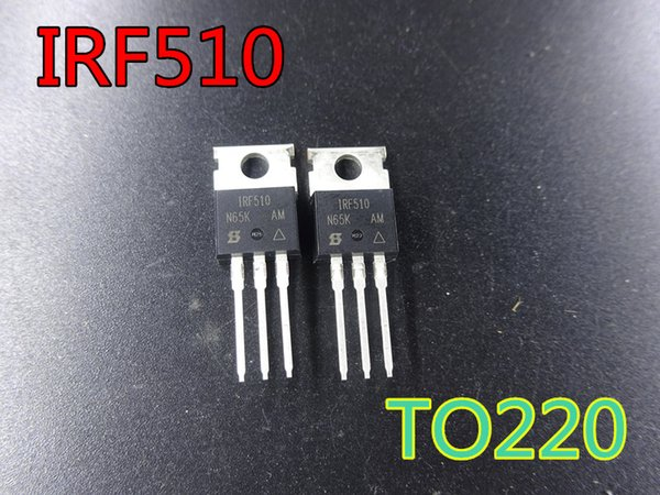 2019 New Transistor IRF510PBF IRF510 TO220 100V 5 6A In Stock From  Nola0507, $16 59 | DHgate Com