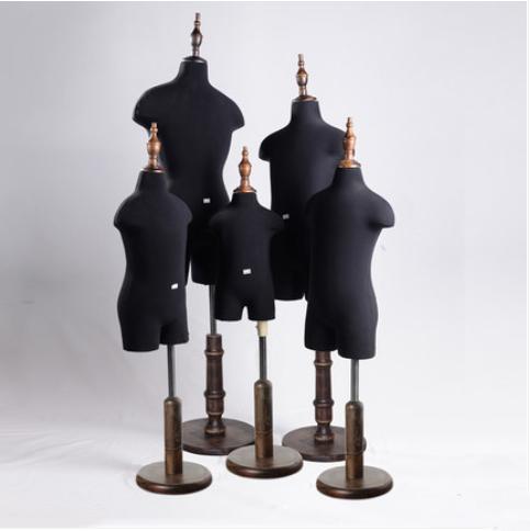 Black Children's Mannequin Half-body Dressmaking Child Mannequin Customized On Sale