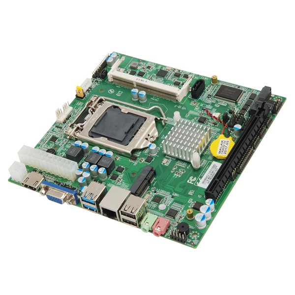 H81 LG1150 CPU 17*17 mini industrial motherboard Support I3/I5/I7 processor ATX Power All-in-on computer motherboard 1*LVDS 1*PCle x16 2*com