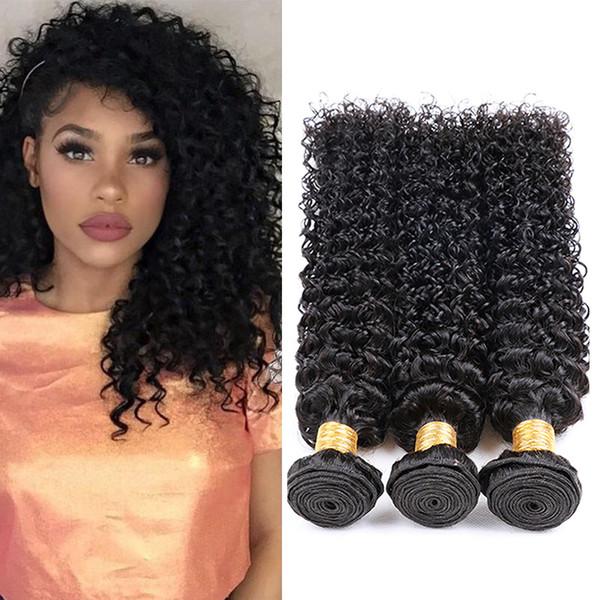 8a 100% необработанные Виргинские бразильские человеческие волосы кудрявый вьющиеся естественный цвет высокое качество бразильский кудрявый вьющиеся ткать наращивание волос Класс 8A