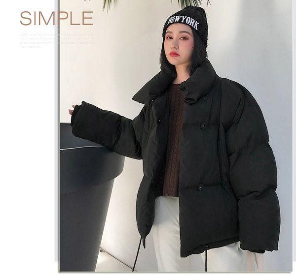 Cotton quilt female 2018 new autumn winter bread clothing small cotton suit loose light coat women jacket coat lady clothing