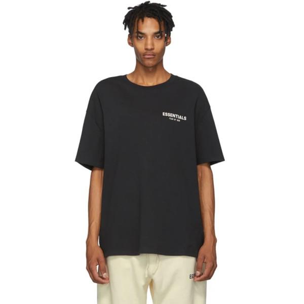 1PCS FOG La peur de Dieu ESSENTIEL florale photo imprimée T-shirt Homme Tee Femmes Mode manches courtes Rue Hip Hop T HFYMTX603