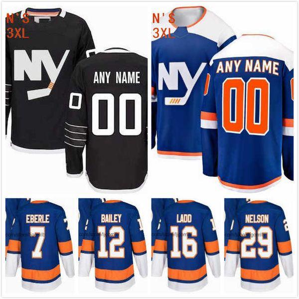 more photos 3f1c2 97f79 2019 Josh Bailey Jersey 12 Brock Nelson 29 Adam Pelech 3 Andrew Ladd 16  Jodan Eberle 7 Ice Hockey Jerseys 2019 New York Islanders Stitched S 3XL  From ...