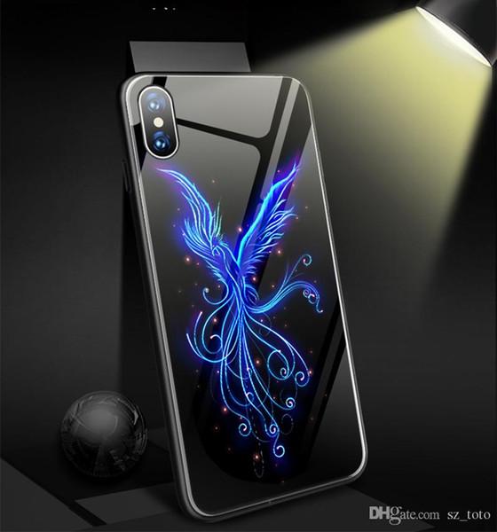 coque iphone 6 plus loup luminous