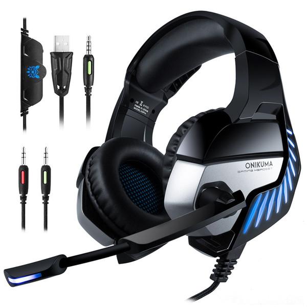 K5Pro Stereo Oyun Kulaklık Kulaklık için PS4 Yeni Xbox mikrofonlu One PC
