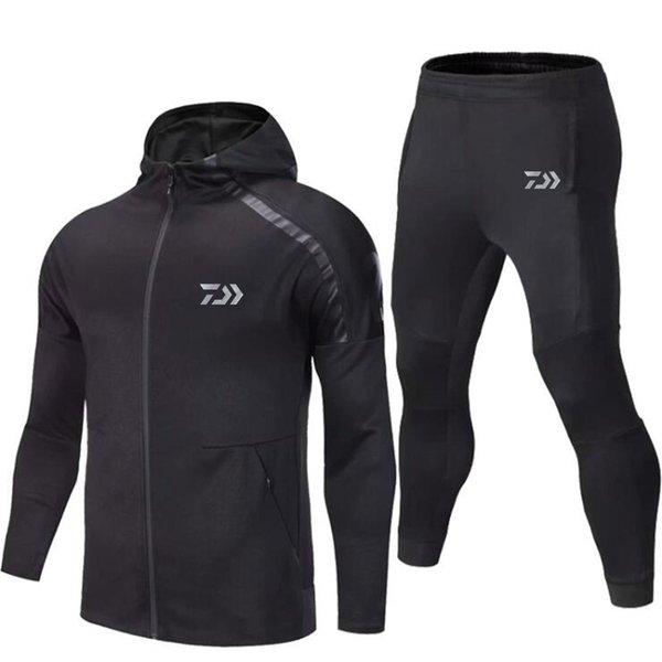 2020 fishing set uv t shirt clothing hooded men jacket pants suit quick-drying coat fishing suit hiking cycling sports apparel thumbnail