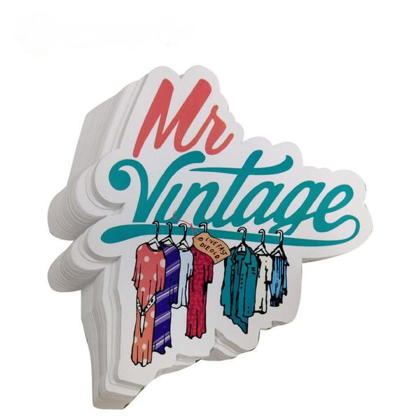 best selling Hot Sale Custom Die Cut Round Cartoon Logo Waterproof Pvc Sticker Labels