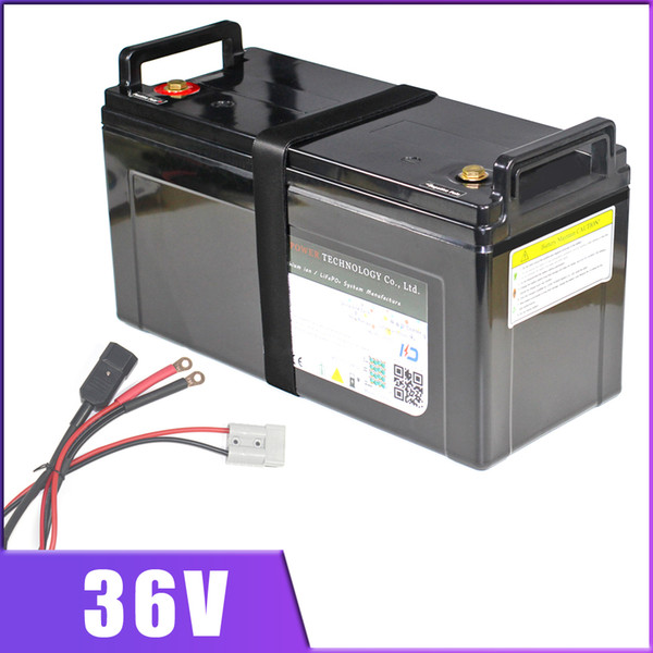 36V 100AH Lithium ion Battery 36V 80AH E bike Scooter Golf Car Electric vehicle Li ion IP68 Waterproof With BMS Charger