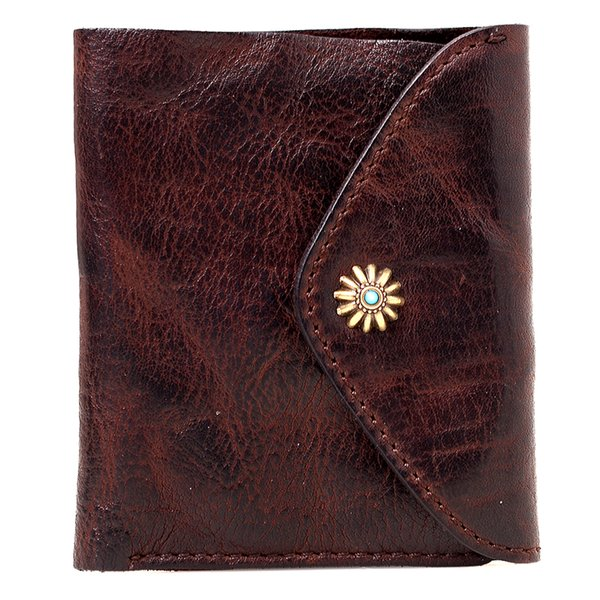 Original handmade genuine leather men short wallet retro coin purse male card holder wallet ultra-thin horizontal ticket wallets