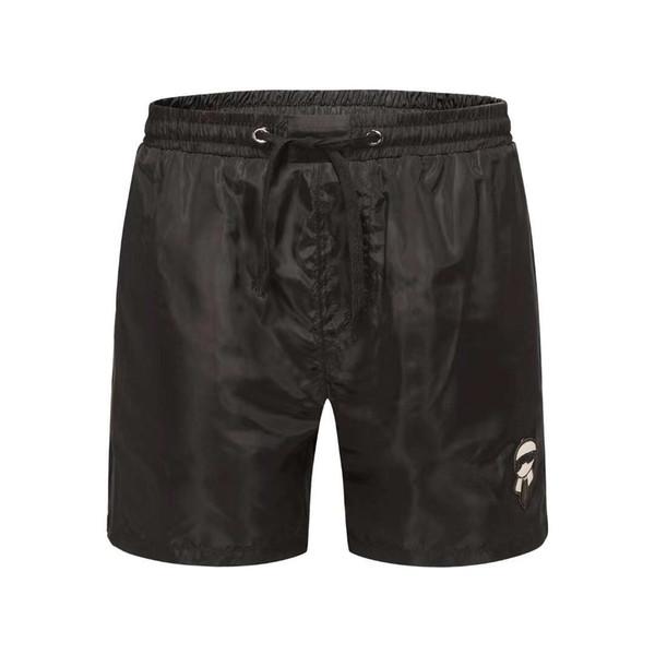 gym Sports Shorts Men's Cotton Home Loose Edition Beach Pants Tide Triple Pants Fitness Bodybuilding Elastic Quick Dry Pants