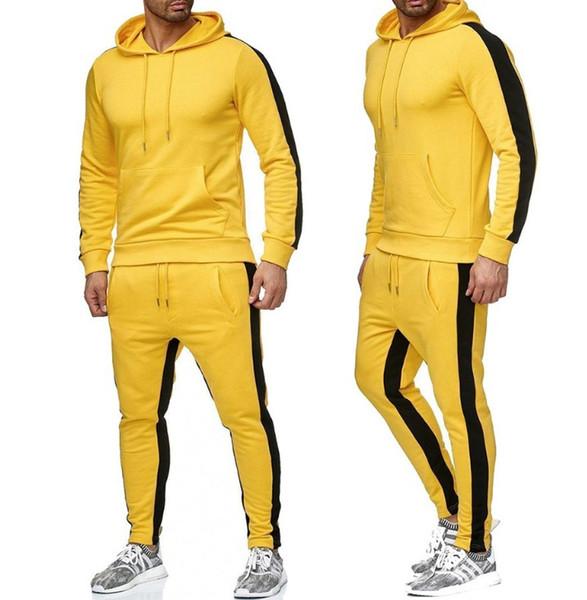 amarelo com o logotipo branco