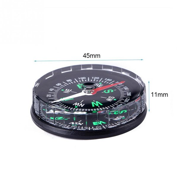 1PC Portable Mini Precise Compass Practical Guider for Camping Hiking North Camping Hiking Compass Survival Watch