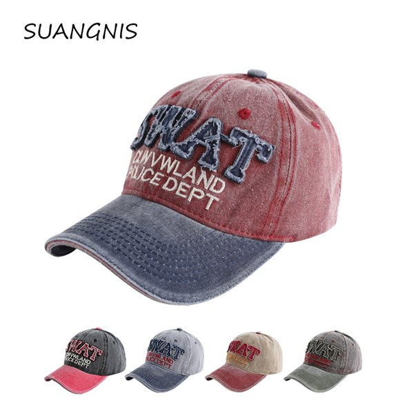 2019 spring swat baseball cap fashion snapback hats casquette bone cotton Fitted hat for men women apparel