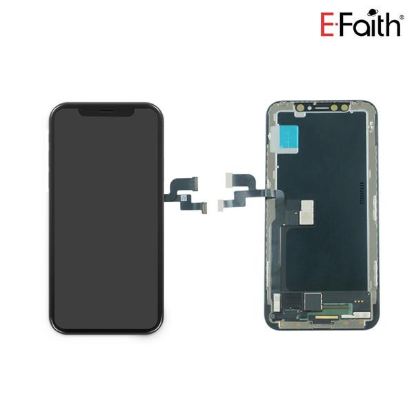Nuovo LCD Soft Amoled aggiornato per iPhone X Perfect Face Face Recognition + Spedizione DHL gratuita + 1 anno di garanzia
