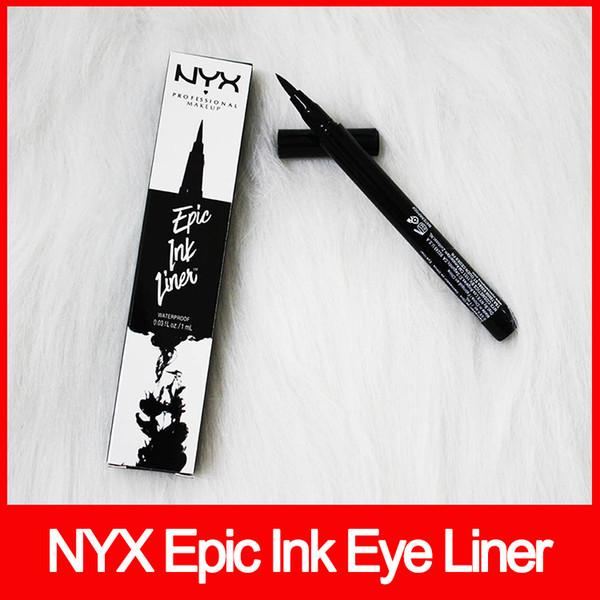 Макияж глаз NYX Epic Ink Liner nyx Черная подводка для глаз Карандаш с жидким макияжем и подводкой для глаз Черный цвет Подводка для глаз Водостойкая косметика надолго